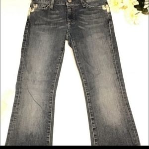 7 For All Man kind boot cut denim size 26